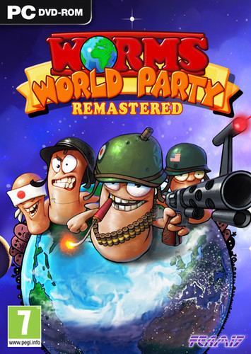 Worms World Party Remastered (2015) PC | RePack от FitGirl