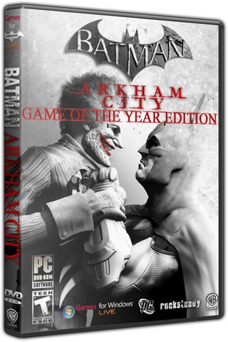 Batman: Arkham City - Game of the Year Edition (2012) PC | RePack от z10yded