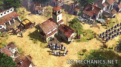 Скриншот к игре Age of Empires 3 - Complete Collection (2005-2007) PC   RePack от R.G. Origami