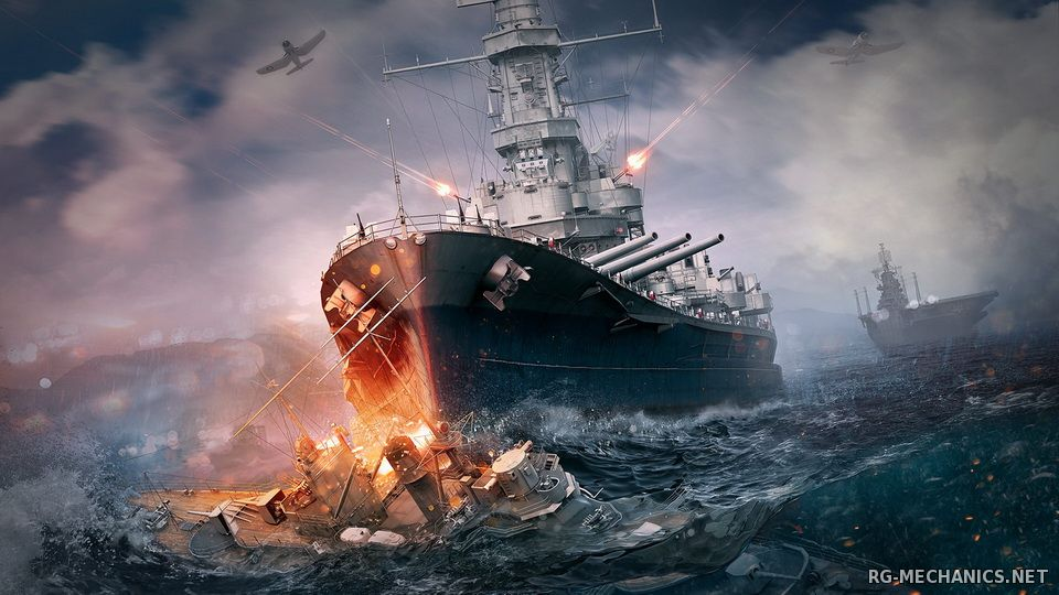 Скриншот к игре World of Warships [0.5.4.3] (2015) PC | Online-only