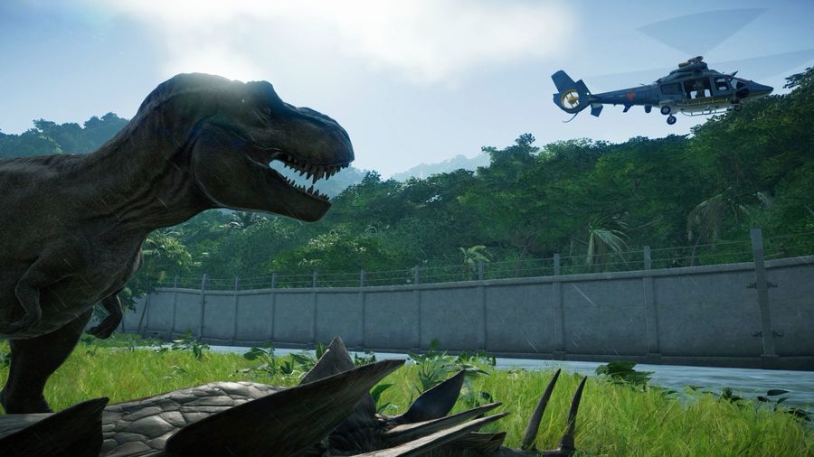 Скриншот 2 к игре Jurassic World Evolution: Deluxe Edition [v 1.4.3 + DLCs] (2018) PC | Repack от R.G. Механики