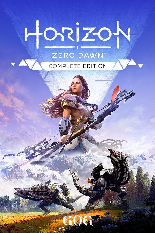 Обложка к игре Horizon: Zero Dawn - Complete Edition v.1.0.10.3 [GOG] (2017-2020) Лицензия