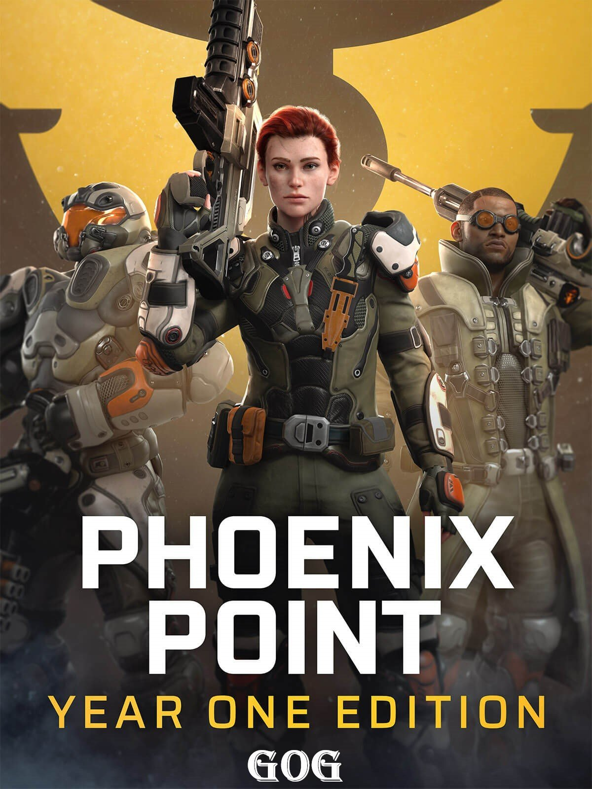 Обложка к игре Phoenix Point: Year One Edition v.1.9.4 [GOG] (2019) Лицензия